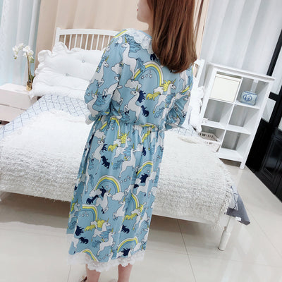 Unicorn Plus Size Dress Sleepwear