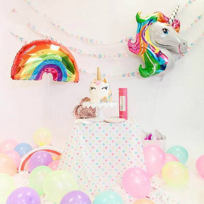 2pc/lot Rainbow and Unicorn Party Balloon - Well Pick Review