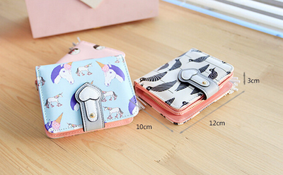 2 Colors Lovely Unicorn Short Wallet  - Well Pick Review