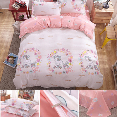 Princess Unicorn Bedding Set