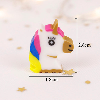 4pcs/lot Cute Unicorn Eraser - Well Pick Review