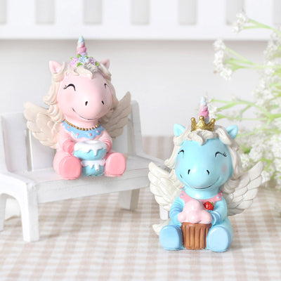 4Pcs/Set Unicorn Fairy Miniature - Well Pick Review