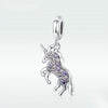 925 Sterling Silver Unicorn Dangles Charm - Well Pick Review