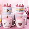 Unicorn Ceramic Enamel Mug