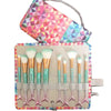 Unicorn Mermaid Makeup Brush Set