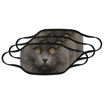 Gray Cat Mask
