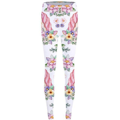 Unicorn Flowers Leggings