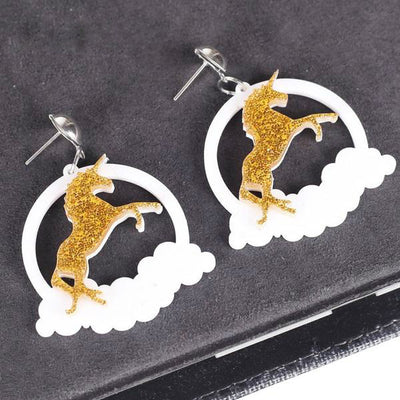 Unicorn Dream Dangle Earrings