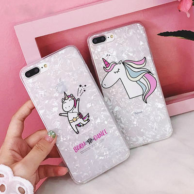 Unicorn Conch Shell iPhone Case