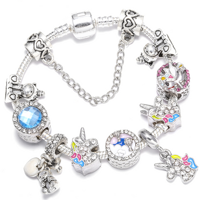 Stunning Unicorns Beads Bracelet