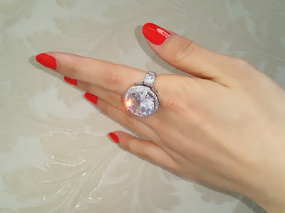 Big Zircon Main Stone Luxury Solitaire Rings - Well Pick Review