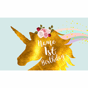 Custom Princess Unicorn Birthday Party Backdrop - Well Pick Review