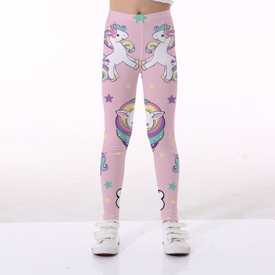 3D Pink Unicorn Kid Leggings - Well Pick Review
