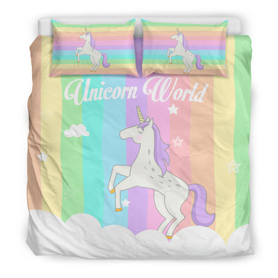 Unicorn World™ Bedding Set