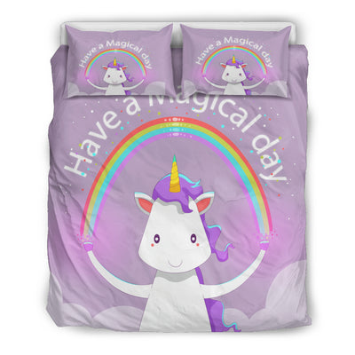 Have A Magical Day Bedding Set