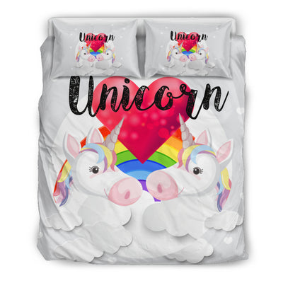 Unicorn Love Bedding Set