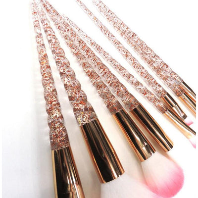 Crystal Unicorn Horn Makeup Brushes - Well Pick Review