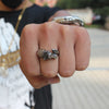 Free - Unicorn Head Titanium Ring