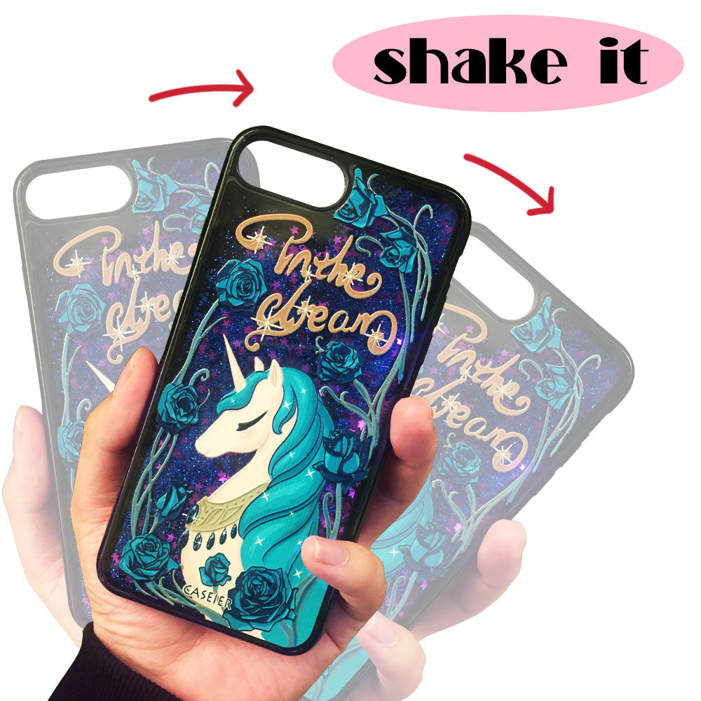 Unicorn Liquid Glitter Phone Case