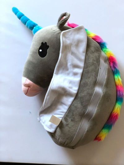Unicorn Plush Car Seat Belt Cover
