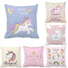 Colorful Cartoon Unicorn Print Pillow - Well Pick Review