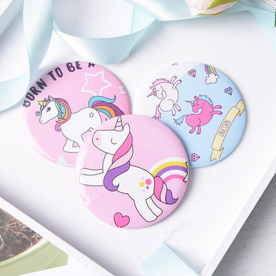 Unicorn Pocket Makeup Mirror