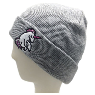 Unicorn Embroidery Kid Hat