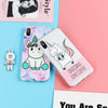 Unicorn Coffee Cat Huawei & iPhone Case