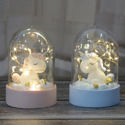 Cartoon Unicorn Landscape Light Lamp - Well Pick Review