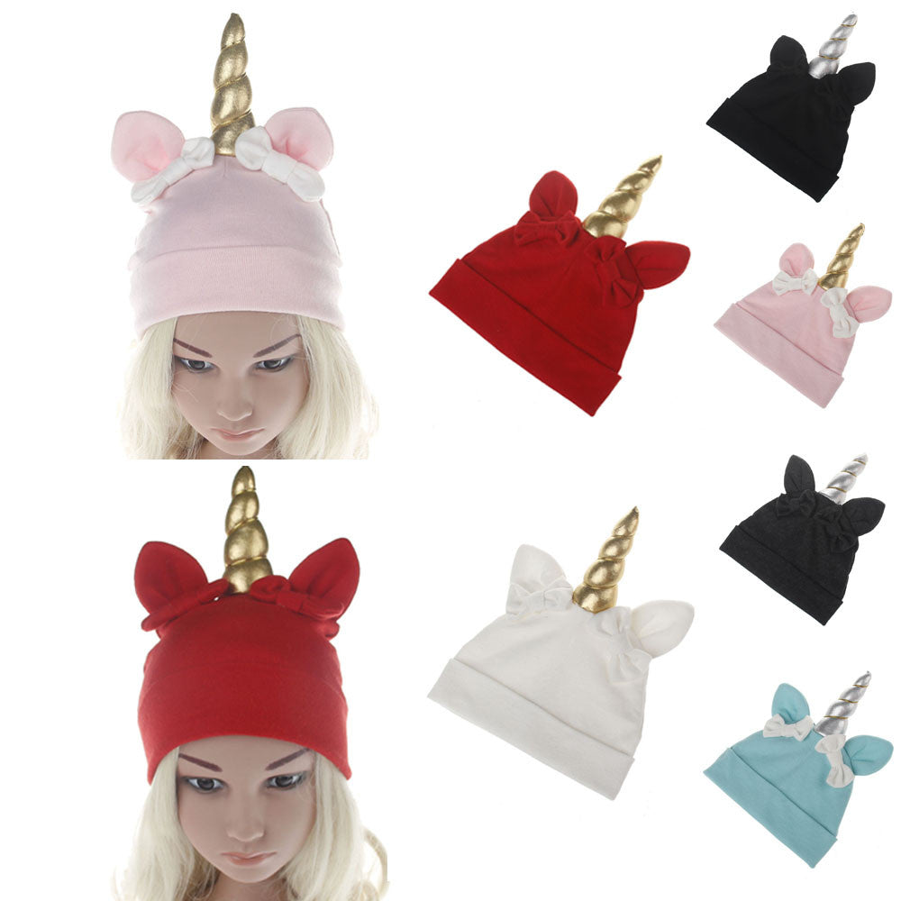 Cute Unicorn Baby Cotton Beanie - Well Pick a812015d934
