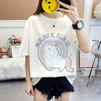 """ Just Believe in Your Dream "" Unicorn T-shirt - Well Pick Review"