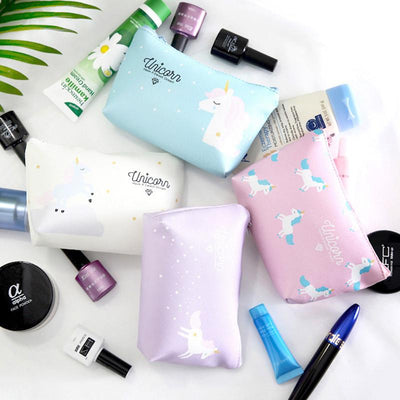 Cute Unicorn Leather Cosmetic Bag - Well Pick Review