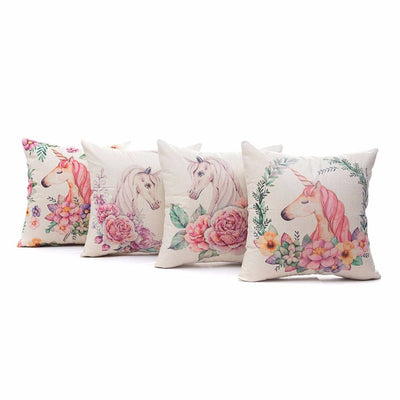Free - Creative Unicorn Cushion Cover