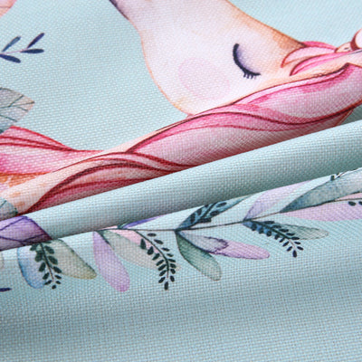 Gorgeous Unicorn Flowers Tablecloth