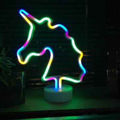 Unicorn LED Neon Night Light