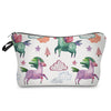 White Unicorn Cloud Makeup Bag
