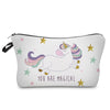 YOU ARE MAGICAL Unicorn Cosmetic Bag