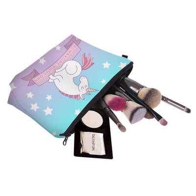 Bluish Purple Unicorn Cosmetic Bag - Well Pick Review
