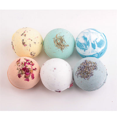 6 Flavors Handmade Bath Bombs Ball - Well Pick Review