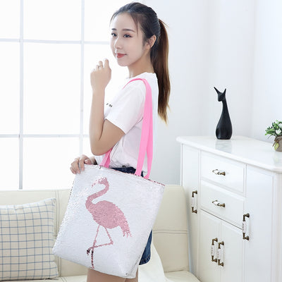 Unicorn Flamingo Shoulder Bag