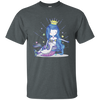 Mermaid Queen Hugging Her Unicorn T-shirt