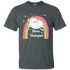 Rainbow Chubby Love Unicorn T-shirt