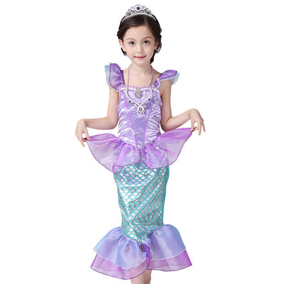 Little Mermaid Fancy Princess Dress