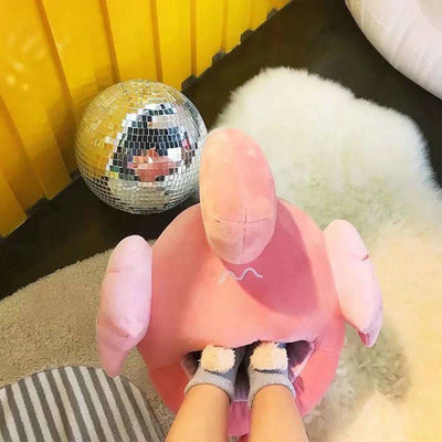 Unicorn/Flamingo Foot Warmer Slipper