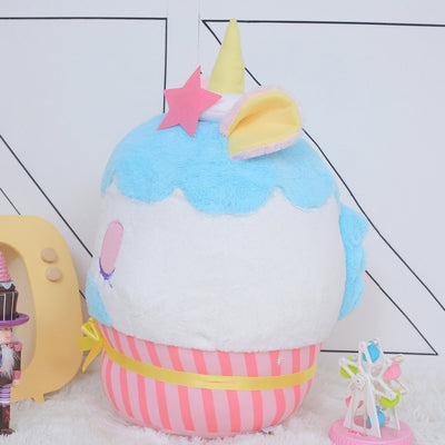 Unicorn Cake Shaped Plush Toy