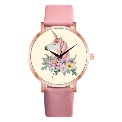 Free - Unicorn Flowers Lady Watch