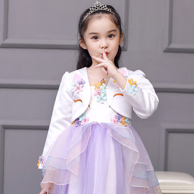 Unicorn Girl Short Jacket