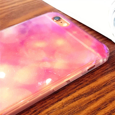 Blue Ray Light Transparent Phone Case - Well Pick Review