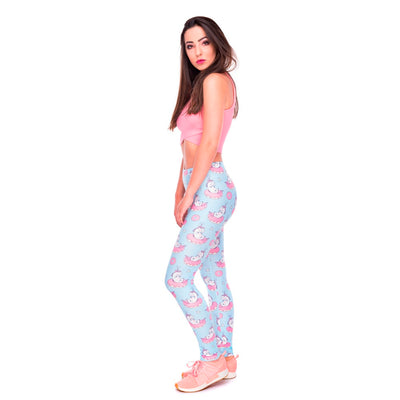 Unicorn Donuts Casual Leggings