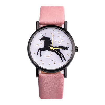 Gold Star Unicorn Wrist Watch